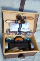 CASE FOR SHOE CARE KIT by swietyleather