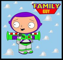Stewie Lightyear by adsta