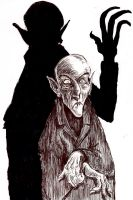 Nosferatu in shadow by thebigduluth