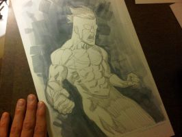 BCC 2010 sketch Invincible by RyanOttley