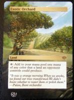 Altered card - Exotic orchard by JohannesVIII