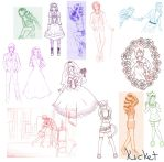 Art Dump Number I Dont Know Anymore by Kucket