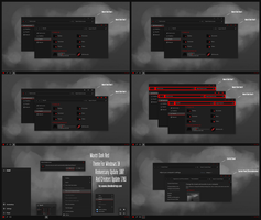 Maxtri Dark Red Theme Win10 Creators Update by Cleodesktop