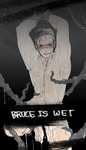 bruce wet by nimby0o0