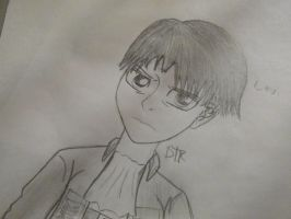 Levi Rivaille Attack On Titan Shingeki No Kyojin by DTKProductions