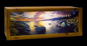 Hand Made Backlit Photo Display by dehrique
