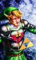 Bearer of the Triforce of Courage by xX-Mr-No-Name-Xx