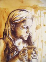 Coffee Stain by FatBabyDave