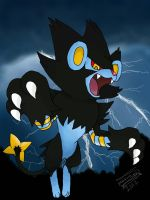 Luxray by Dragongirl1993