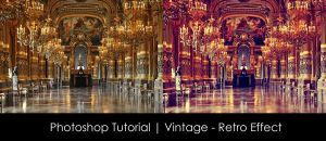 Photoshop Tutorial | Vintage - Retro Effect by mounir-designs