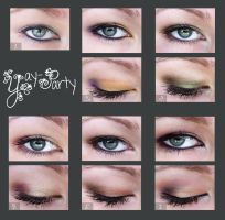 Moar eyeshadow? Why yes. by yay-party