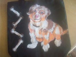 Puppy Tote Bag by originalceenote