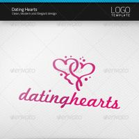 Dating Hearts Logo by artnook