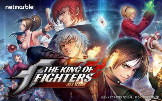The King of Fighters All Star by ryuganstudios