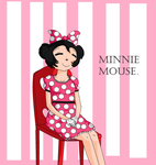 Minnie Mouse by flippyandflaky