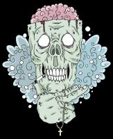 Skull Flash by graphic-image