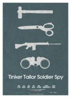 Tinker Tailor Soldier Spy by forgedesignworks