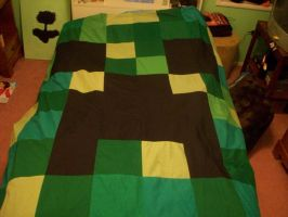 Creeper Quilt by Sober-Raptor