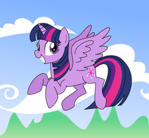 Alicorn Twilight by Botchan-MLP