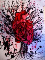 Intertwined Heart by Er-ca