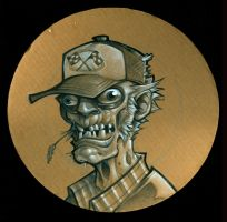 Pizzabox Zombie-Deep Dish Dale by blitzcadet