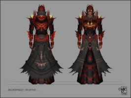 Armor Concept O - Necropriest by Xyrga