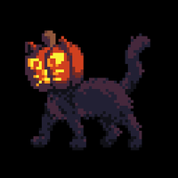 Pumpkin Cat by wanyo