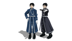 MMD Newcomer Roy Mustang by 25animeguys