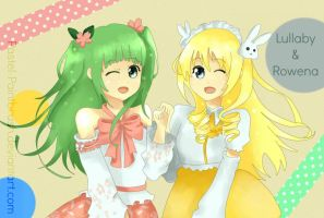 AT: Rowena and Lullaby by arulie