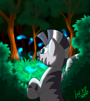Glowy stuff that float in the air by Chocolatechilla