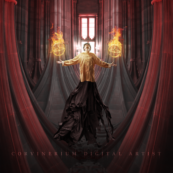 Cathedral Of Fire by Corvinerium