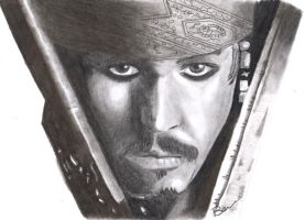 captain jack sparrow by bevf2003