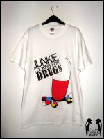 Junkie - T Shirt by DeftLeftHand