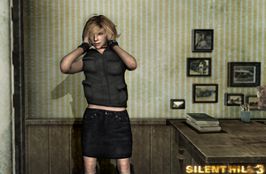 Silent Hill 3 Hair Play'n Heather Mason by DarkReign27