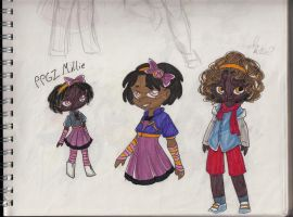 PPGZ Millie designs by Xilent-Knights