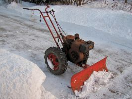 Vintage Snow Removal by MarksA-C