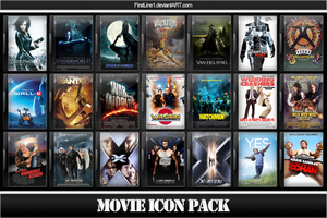 Movie Icon Pack 16 by FirstLine1