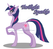 MylittlePony  Twilight Sparkle by Shadow-of-Destiny