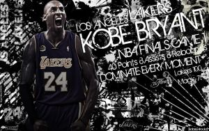 Kobe Bryant Finals Wallpaper by IshaanMishra