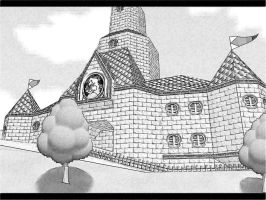 Super Mario 64 Peach's Castle by superbros4564