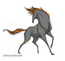 Egyptian Horse by Clairictures