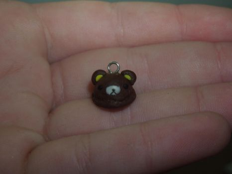 Bear Icecream | Polymer Clay | PastelClayCharms by theblondeunicorn