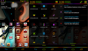 Neon Colors Theme Update by nitinvaid20
