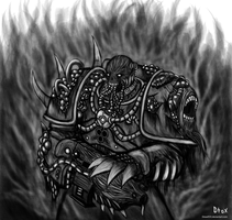 Warhammer 40k Plague marine by Dread555