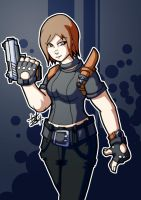 :jill valentine alternate outfit concept: by PoisonRemedy