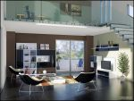 3D TV Roomset 3 by FEG