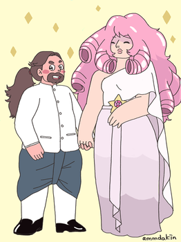 Rose and Greg by ammdakin