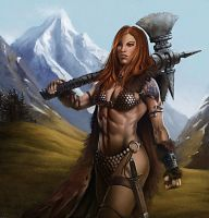 Red Sonja by mitze