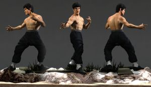 Bruce Lee by Rafaelunlimited1414