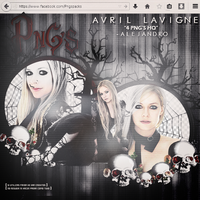 +pack png avril lavigne {2} by CaramelLightColor
